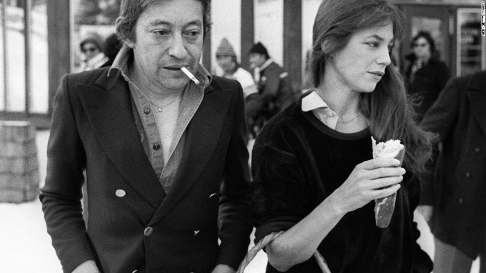 Serge Gainsbourg -- chain-smoker, drunk, occasional singer and ideal sartorial role model for French men.