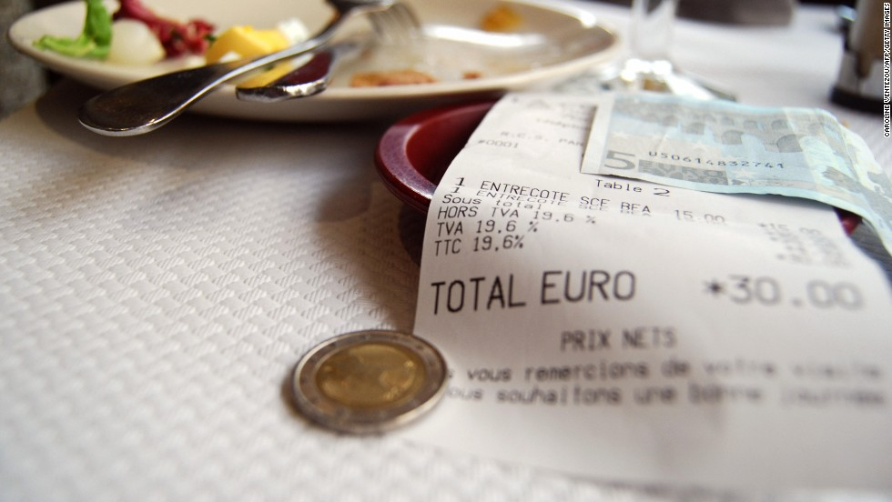 Parisians consider overt concern for money vulgar, so create a diversion before you check that restaurant bill.