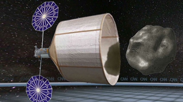 Could we really capture an asteroid?