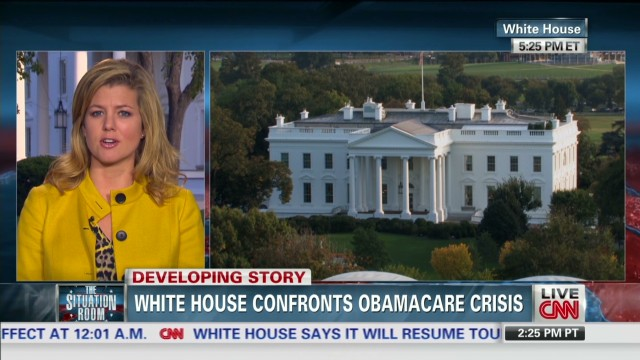 White House confronts Obamacare crisis