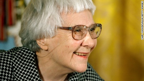 WASHINGTON - NOVEMBER 05: Pulitzer Prize winner and 'To Kill A Mockingbird' author Harper Lee smiles before receiving the 2007 Presidential Medal of Freedom in the East Room of the White House November 5, 2007 in Washington, DC. The Medal of Freedom is given to those who have made remarkable contributions to the security or national interests of the United States, world peace, culture, or other private or public endeavors. (Photo by Chip Somodevilla/Getty Images)