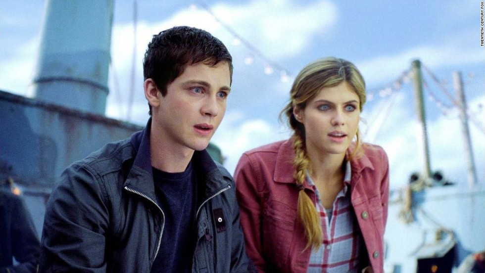 "The first ""Percy Jackson"" adaptation, based on Rick Riordan's popular series, came out in 2010, and fans were struck by serious deviations from the original plot and even the hair color change for a main character, Annabeth. ""Percy Jackson: Sea of Monsters"" continued the franchise in summer 2013 and gave Annabeth (Alexandra Daddario, here with Logan Lerman as Percy) back her original blonde hair."