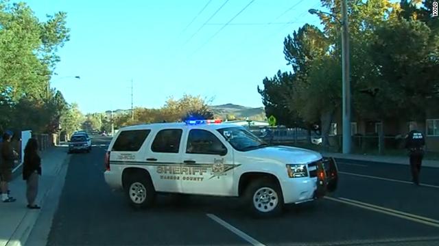 Staff member killed in school shooting
