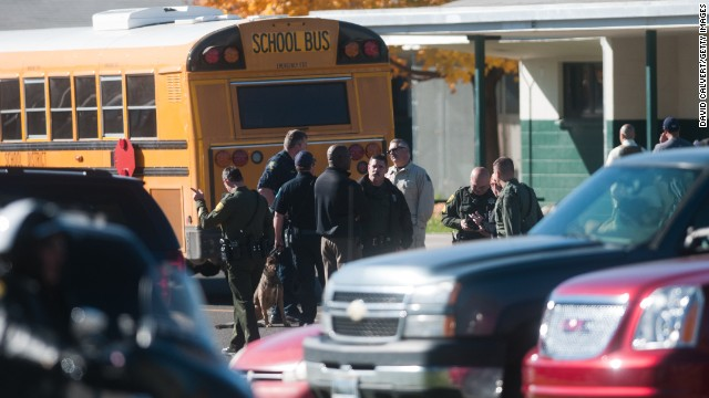 Police: Two students, teacher were shot