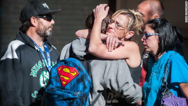 Teacher dead in Nevada school shooting