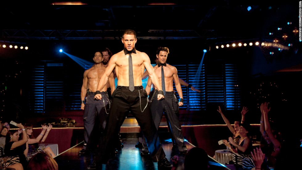 "Channing Tatum shows off some of his better assets in the movie ""Magic Mike"" and its sequel. But as he<a href=""http://www.elle.com/pop-culture/celebrities/channing-tatum-interview"" target=""_blank""> told Elle magazine</a>, he enjoys being in the buff off-camera, too. ""I have a really nice back porch where the pool is,"" he said. ""Once the shoes are off, the socks come off too, and then everything else downstairs just follows at some point."""