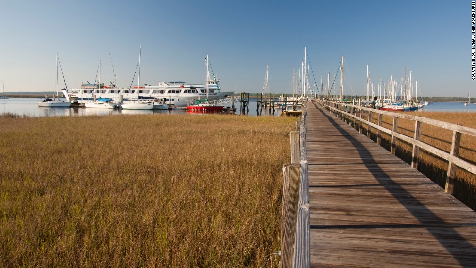 Blount Small Ship Adventures offers trips into the South's Lowcountry.