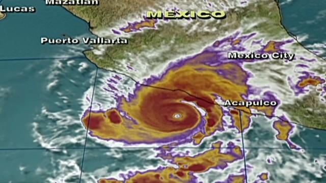 Raymond pone en alerta a México