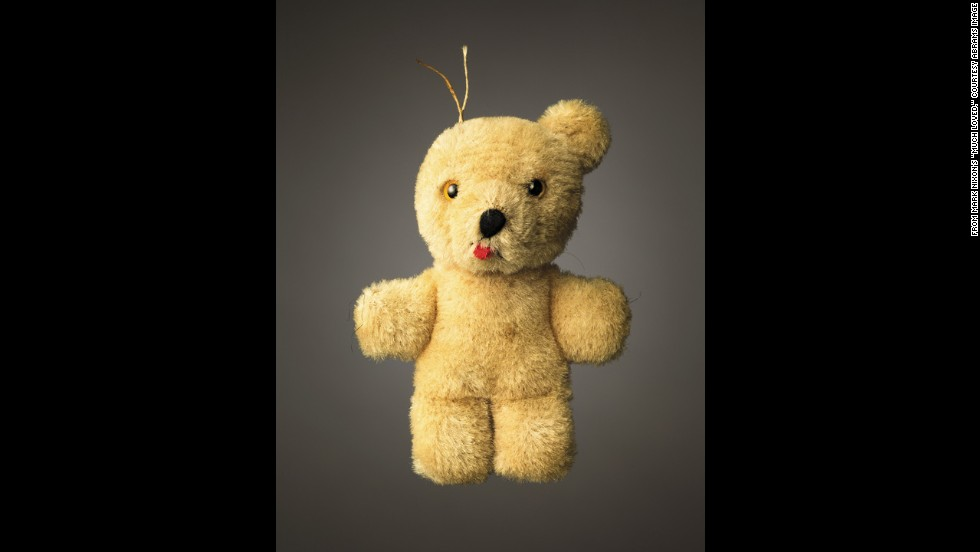 <strong>Greg's Bear -- </strong>Age: Unknown.<br />Height: 4 inches.Belongs to Bono and Ali Hewson.
