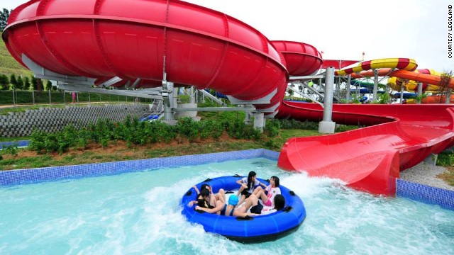"Despite being geared toward kids aged 2-12, Legoland Malaysia Water Park has thrill rides for big ""kids."""