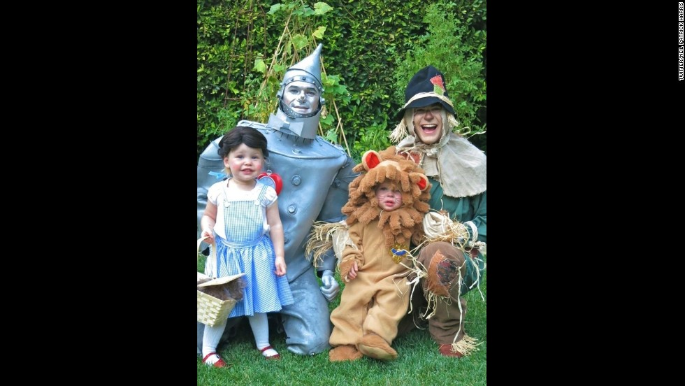 """Halloween is serious business at the Neil Patrick Harris-David Burtka house. Each year, the parents of Gideon and Harper bring their A-costuming game and manage to create impeccable, themed family costumes. For 2013, the family <a href=""""http://instagram.com/p/fslN4ayTgY/"""" target=""""_blank"""">took a trip down the rabbit hole. </a>"""
