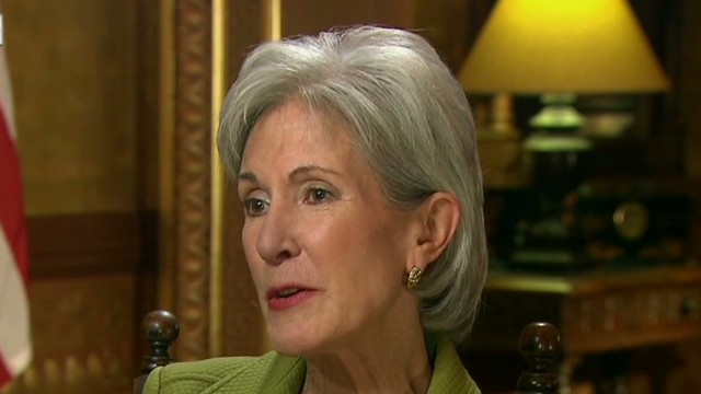 Sebelius: We are not at all satisfied