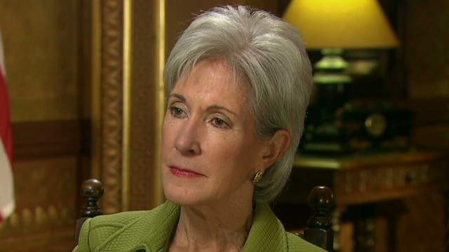 Sebelius: This will be fixed