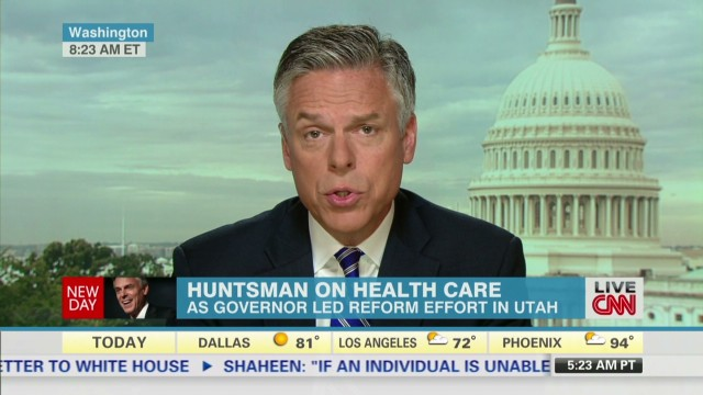 Huntsman: This is beyond politics