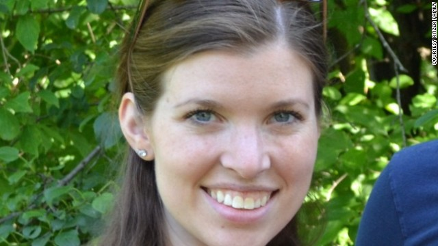 Police discovered high school teacher Colleen Ritzer's body in a wooded area near the school, covered with leaves and debris.