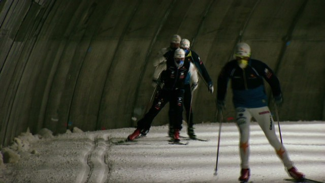 World's longest indoor ski tunnel