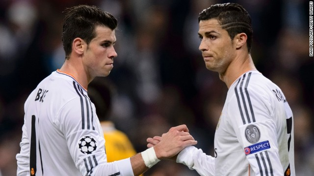 Cristiano Ronaldo scored twice in Real Madrid's 2-1 win over Juventus while Gareth Bale appeared as a substitute.