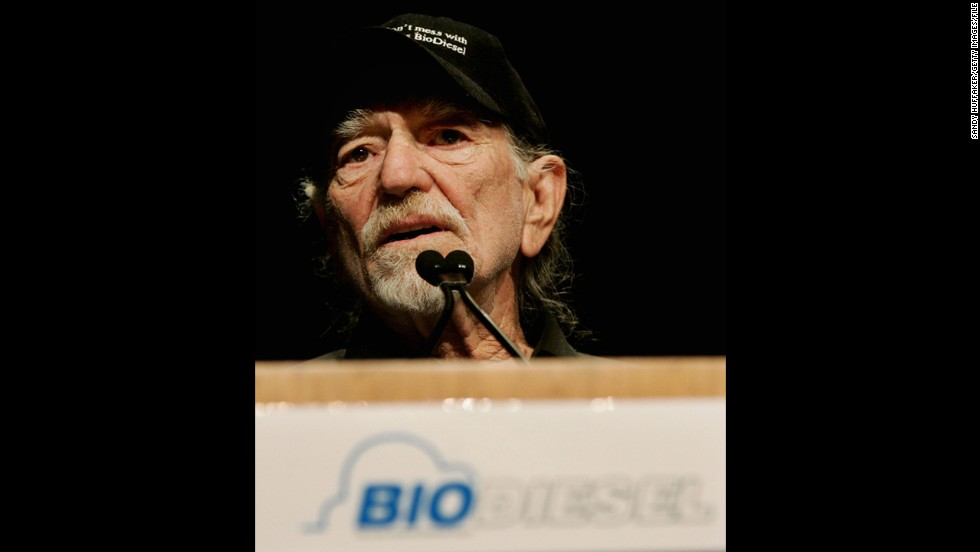 "Willie Nelson<strong> </strong>is the founder of the brand <a href=""http://biowillie.com/bw/"" target=""_blank"">BioWillie Biodiesel</a>, a petroleum alternative made from vegetable oil and waste fats. It's been used to power the country star's tour bus."