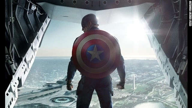 "Chris Evans stars as the patriotic superhero in ""Captain America: The Winter Soldier."""