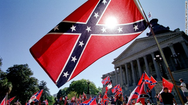 Dean Obeidallah says the Confederate battle flag was carried by enemy troops as they killed U.S. soldiers.