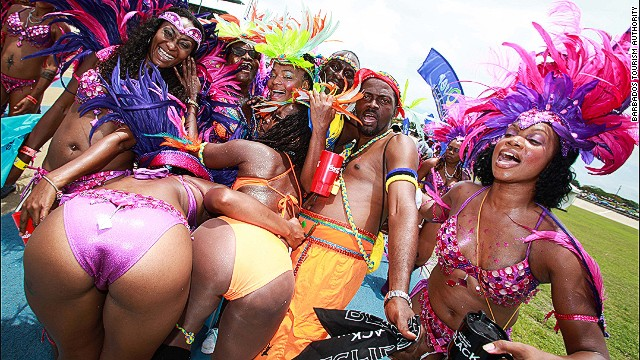 No more sugar? In Barbados, that means it's time to party.