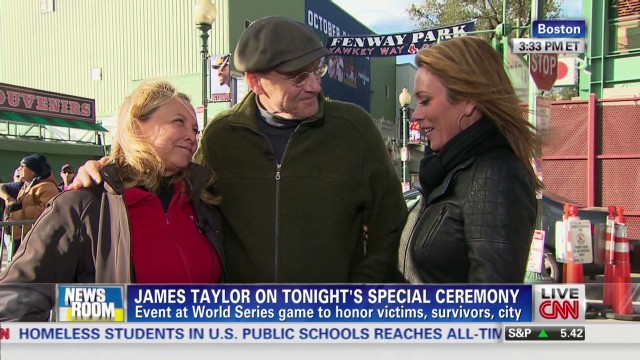 James Taylor talks World Series