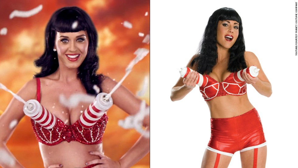 If you have the body for it, ladies (and possibly some gents) you could always adopt Katy Perry's California Gurl look.