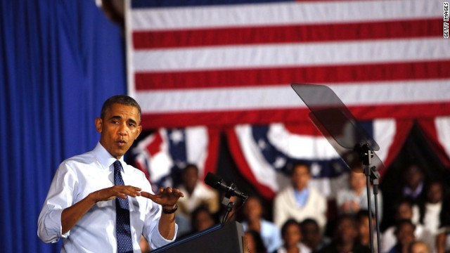 Obama moving focus away from Obamacare?