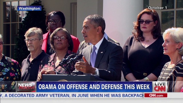 Obama on offense and defense this week