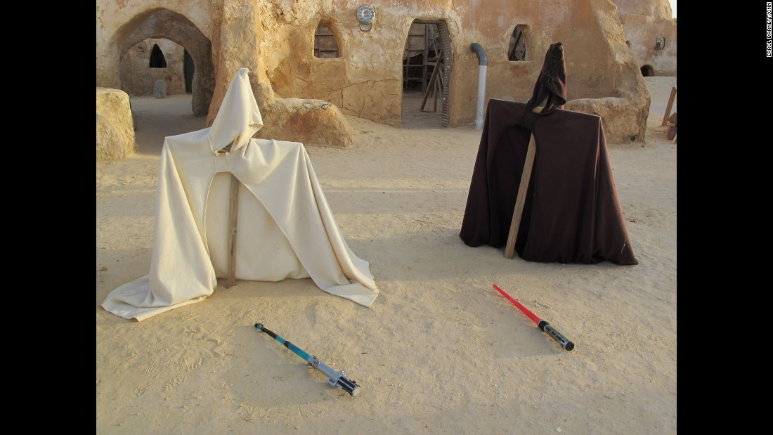 "TUNISIA: ""When Director George Lucas made the more recent 'pre-quils' of Star Wars, he returned to Tunisia where parts of the original movies were shot. Lucas accepted a request from the government to leave the sets intact so fans would be able to get a behind-the-scenes perspective."" -  CNN's Errol Barnett.<br />Follow <a href=""http://instagram.com/errolswindow"" target=""_blank"">@errolswindow</a> and other CNNers on the <a href=""http://instagram.com/cnnscenes"" target=""_blank"">@cnnscenes</a> gallery on Instagram for more images you don't always see on news reports from our teams around the world."