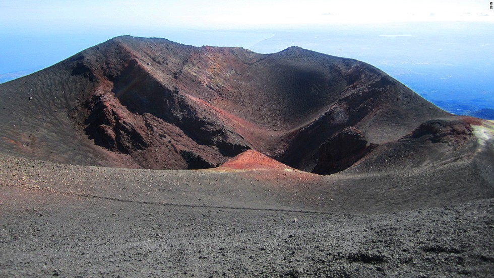 Etna is Europe's tallest and most active volcano. Rather than a single crater, its peak has several. Some spots are more active than others.
