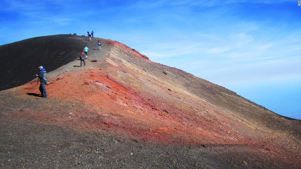 The volcano is open to visitors every day and closes only during dangerous eruptions.