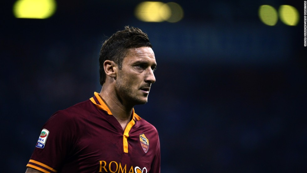 Francesco Totti has come to define Roma during a playing career with the club which is now in its third decade. The iconic No. 10 is the club's all-time leading goalscorer and he is widely regarding as the finest player to have worn a Roma shirt. This season has seen the 37-year-old at the peak of his powers, with three goals and six assists in nine games.