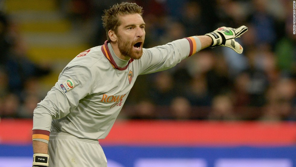 Veteran goalkeeper Morgan De Sanctis was one of a number of shrewd preseason signings by Roma. De Sanctis arrived in a cut-price deal from Napoli, who currently sit in second place in Serie A, and he has conceded just one goal in nine league matches.