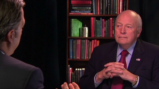 Cheney: Lawyers said we didn't torture