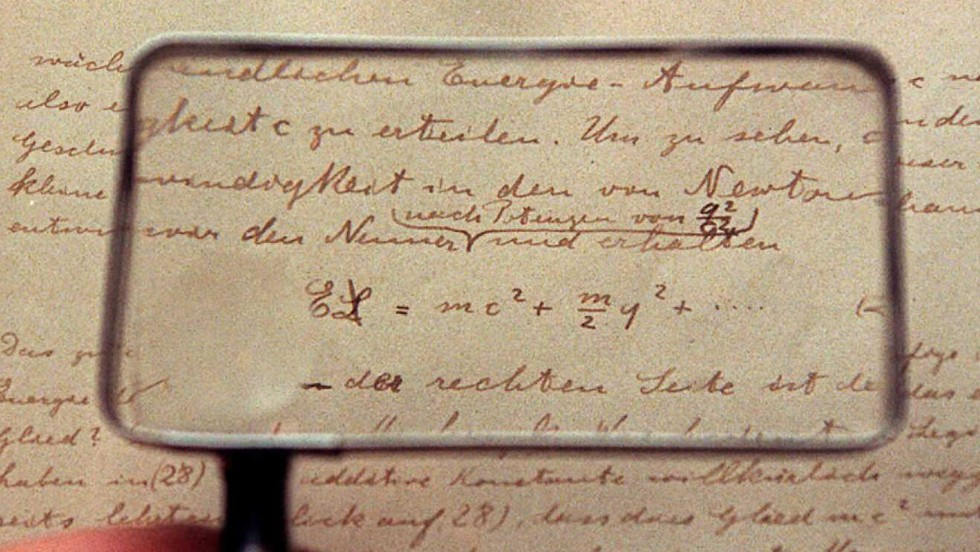 The most famous equation ever written by arguably the most famous scientist ever to live, Einstein's greatest tool was his brain. This is the earliest and longest manuscript on relativity that he ever wrote. In it he negates many assumptions made in earlier physical theories and redefines concepts of space, time, matter, energy, and gravity. While the equation denotes his theory of special relativity, which is concerned with light, Einstein's theory of general relativity helps us to understand planetary dynamics and the evolution of the universe.