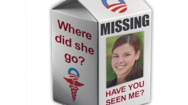 The Obamacare Girl has gone missing