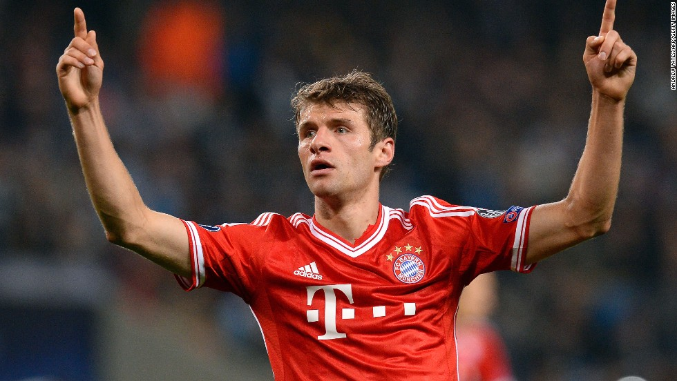 <strong>Thomas Muller</strong> (Bayern Munich & Germany) <strong><br />CNN rating:</strong> Contender <br />The Bayern youth academy graduate has forged a reputation as one of the world's most clinical finishers. Muller will hope to add the Ballon d'Or to the Golden Boot he won at the 2010 World Cup in South Africa.