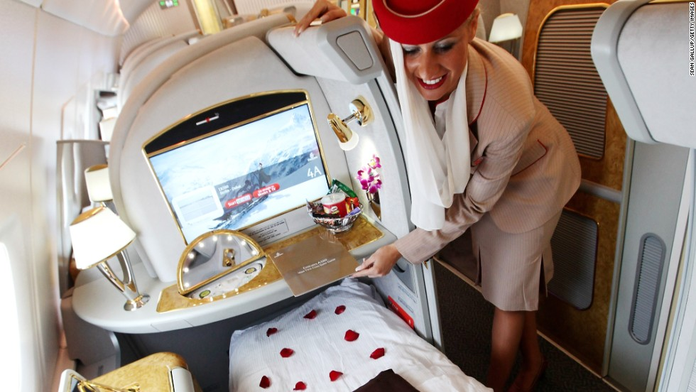 For decades, international first class has been the ultimate totem of sky-borne self-indulgence. However, with corporate travel budgets shrinking, there's a dearth of customers willing to pay eye-watering prices that often top $15,000 per person for a long-haul trip.<br />A number of airlines have reduced their first-class offerings, re-branding them as an improved business class.