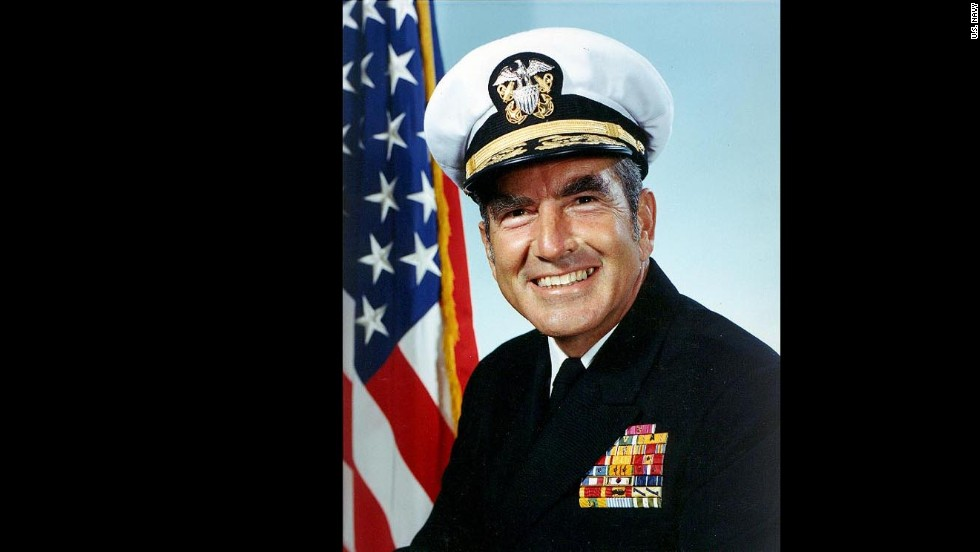 "The ship is named in honor of Adm. Elmo R. ""Bud"" Zumwalt Jr., who was chief of naval operations from 1970-1974."