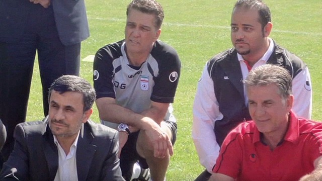American coaching Iran's soccer team
