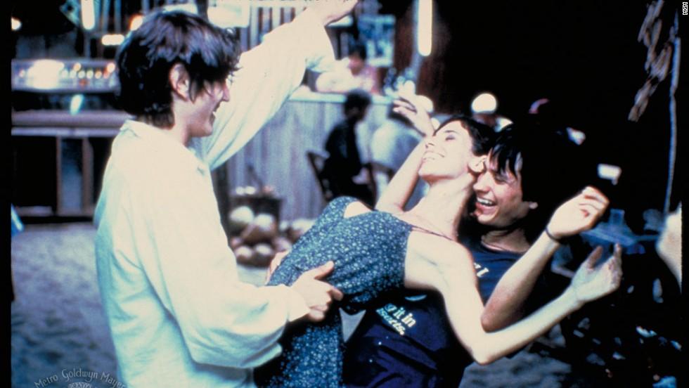 "Gael Garcia Bernal, Diego Luna and Maribel Verdu form a passionate trio in ""Y Tu Mama Tambien."""