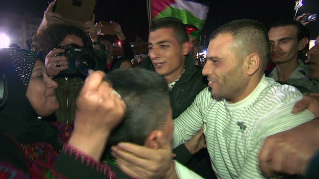 Palestinian prisoners released