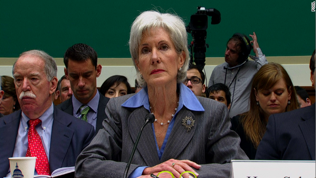 Sebelius: Website 'frustrating'