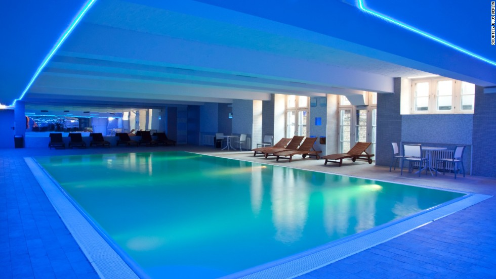 Plus Berlin also has a pool and sauna, not to mention free yoga classes and a conference room for business travelers.