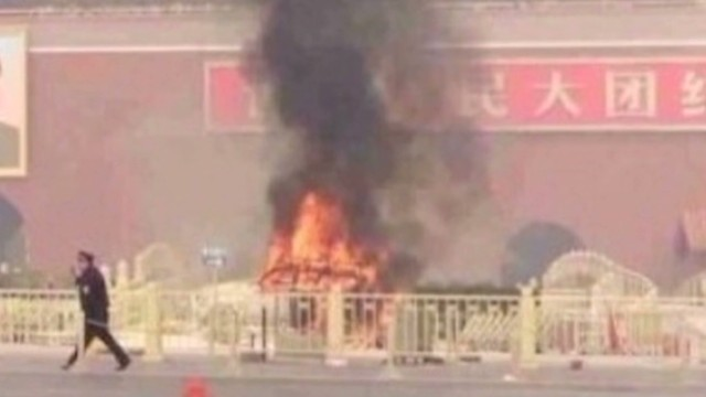 2013 Video: China calls Beijing attack terrorism