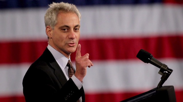 Rahm Emanuel: I'm there for Hillary 2016