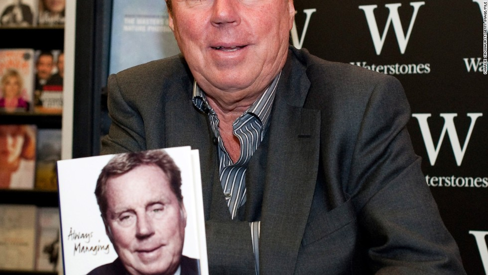 "QPR manager Harry Redknapp criticized England manager Roy Hodgson in his autobiography and also revealed about his wife Sandra: ""We've been married 46 years and I always say she was my best signing."""