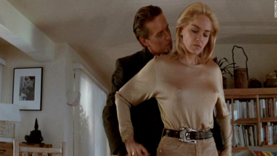 "<a href=""http://www.toobeautiful.org/lat0429.html"" target=""_blank"">Gay activists protested ""Basic Instinct</a>,"" starring Michael Douglas and Sharon Stone, as they felt that the portrayal of her bisexual character was offensive."