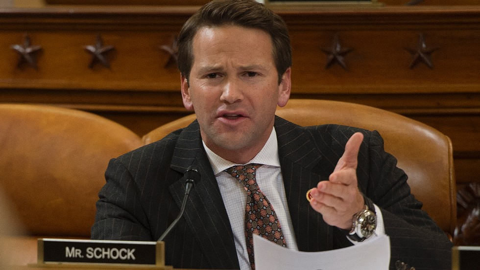 "Rep. Aaron Schock, R-Illinois, confronted Tavenner on October 29 with anecdotal evidence from a constituent about changes to the individual insurance market linked to the implementation of Obamacare, changes that undermine Obama's oft-repeated pledge that ""if you like your plan, you can keep your plan."" ""She has health insurance that she likes. She's been paying her premium. She wants to keep it. But she can't,"" Schock said. ""Isn't that a lie?"""